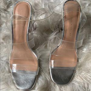 Vinyl heels